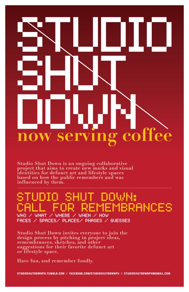 Studio Shut Down - Mica Cabildo